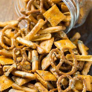 Crowd-Pleasing Party Snack Mix
