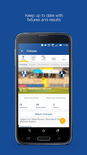 Fan App for Bristol Rovers