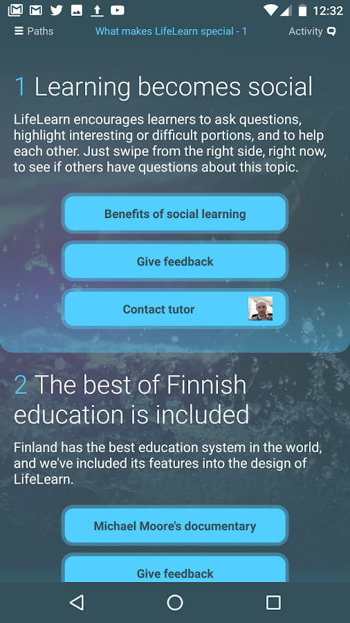 LifeLearn- screenshot
