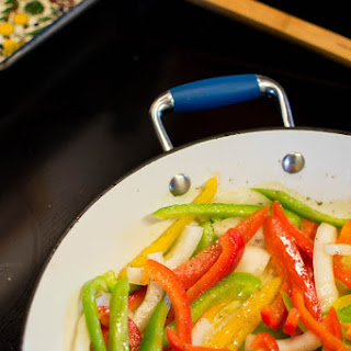 Sauteed Peppers and Onions Bringing Family Together Recipe