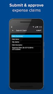 NHS Expenses Mobile - náhled