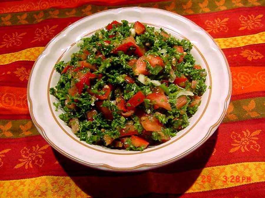 Parsley Salad Recipe Just A Pinch Recipes