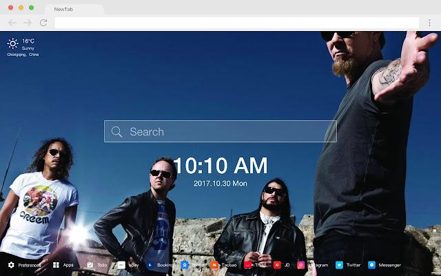 重金属乐队 新标签页 流行音乐 高清壁纸 主题