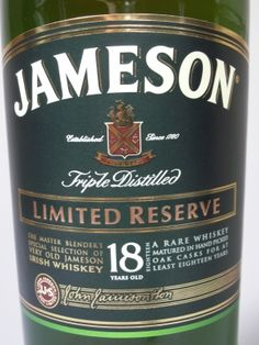 Logo for Jameson 18 Year Old Limited Reserve