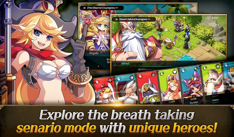 android Fantasy War Tactics Screenshot 14