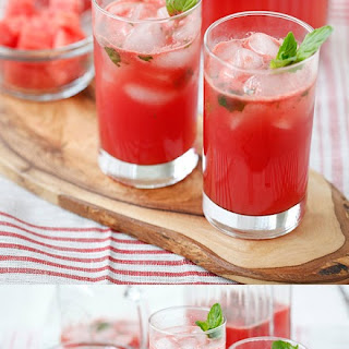 Watermelon-Tequila Cocktail.