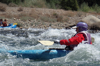 Photo: Playboating at Old Scarey Rapid.