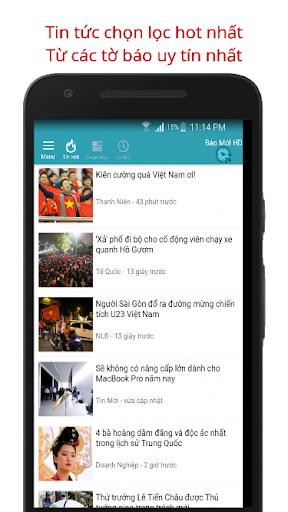 Báo Mới - Doc Bao Moi HD Tin Tuc 24h screenshot 8
