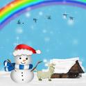 Winter Sky Live Wallpaper icon