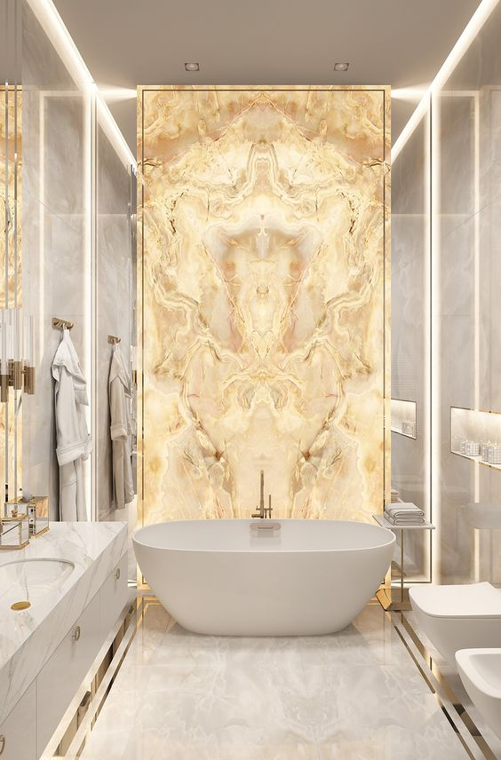 White And Gold Bathroom Ideas How To