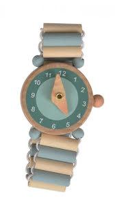 Armbandsklocka, trä