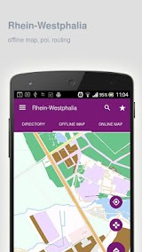 Rhein-Westphalia Map offline Apk Download Free for PC, smart TV