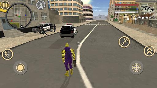Spider Rope Hero Frog Strange Ninja Gangster Crime 1.0 screenshots 3