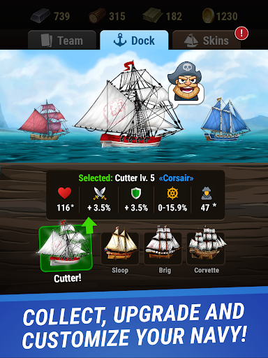 Pirates & Puzzles - PVP League apkmr screenshots 7