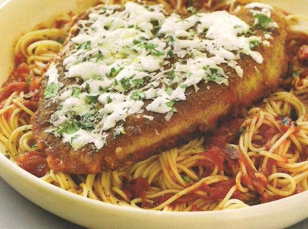 Gabriella's  Chicken Parmesan Recipe