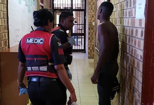 Reaction Unit SA emergency workers attended to a 17-year-old pupil who was stabbed repeatedly at school on February 11 2019.