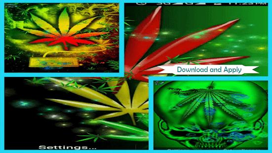 Rasta Weed Live Wallpaper - náhled