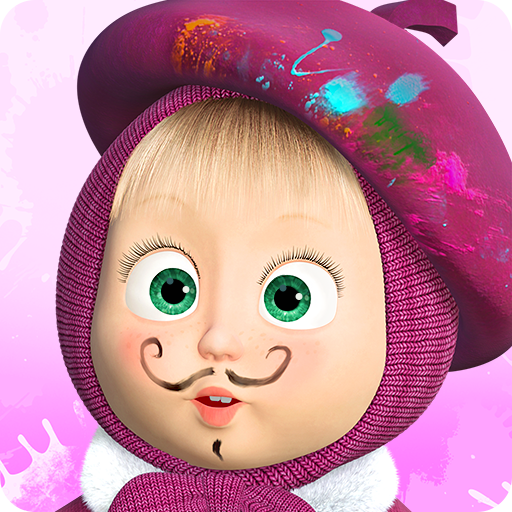 Masha and the Bear: Free Coloring Pages for Kids file APK for Gaming PC/PS3/PS4 Smart TV