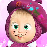 Masha and the Bear: Free Coloring Pages for Kids file APK Free for PC, smart TV Download