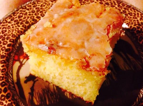 Nannie's Sunday Lemon Cake Recipe