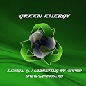 Green Renewable Energy icon