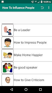Download How To Influence People For PC Windows and Mac apk screenshot 2
