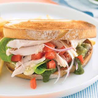 Toasted Chicken Sandwiches.