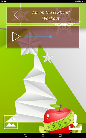 android Christmas Fitness Holidays Screenshot 9