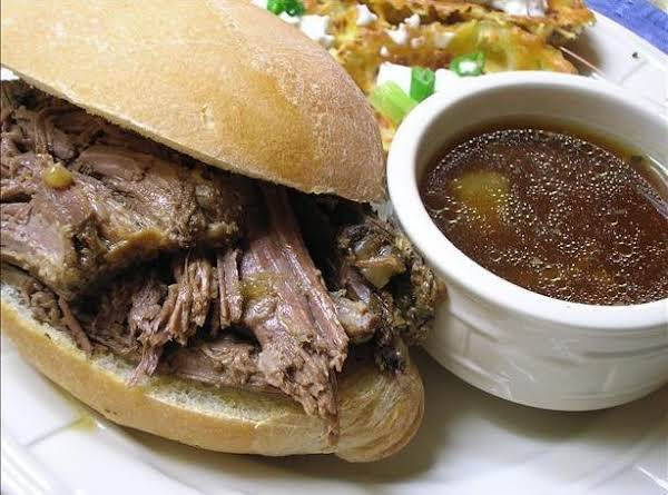 French Dip-crock Pot Recipe