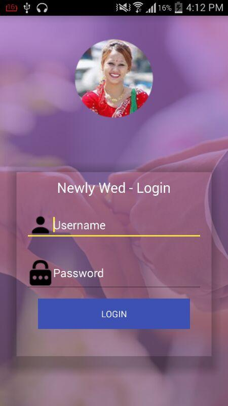 NewlyWed- screenshot