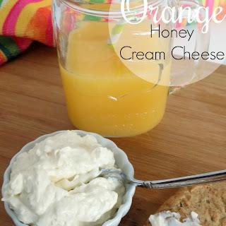 Orange Honey Cream Cheese.