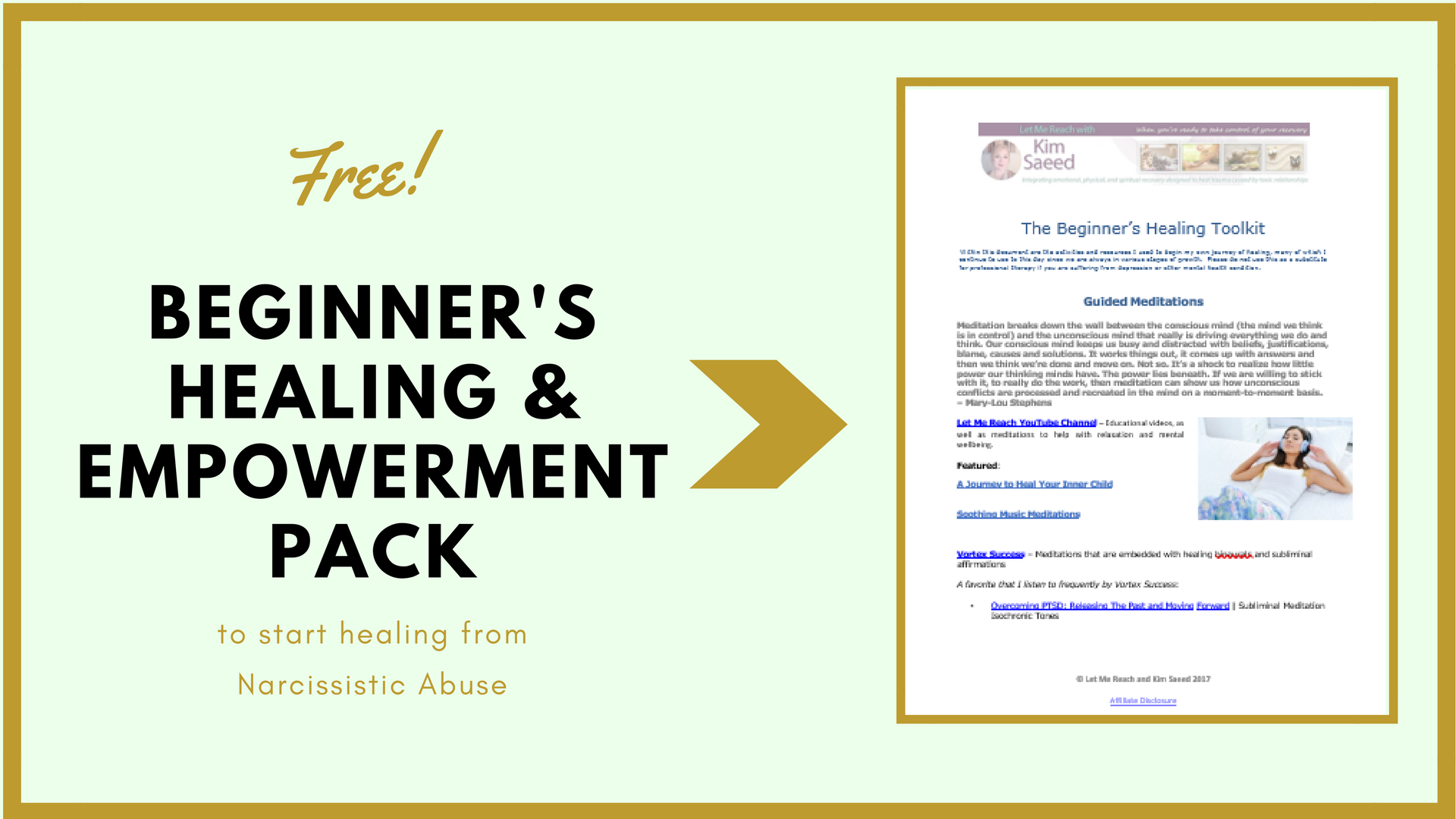 Snag your free healing toolkit!