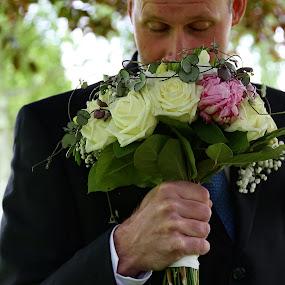 Sweet by Joachim Persson - Wedding Other ( wedding, best man, bride, flowers, groom,  )