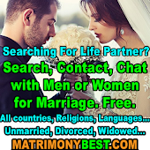 Free Matrimony for Marriage