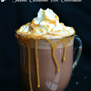 Skinny Salted Caramel Hot Chocolate