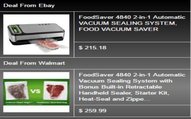 Amazon vs Ebay and Walmart