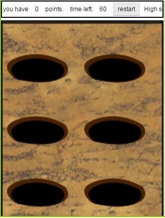 Moles in Holes