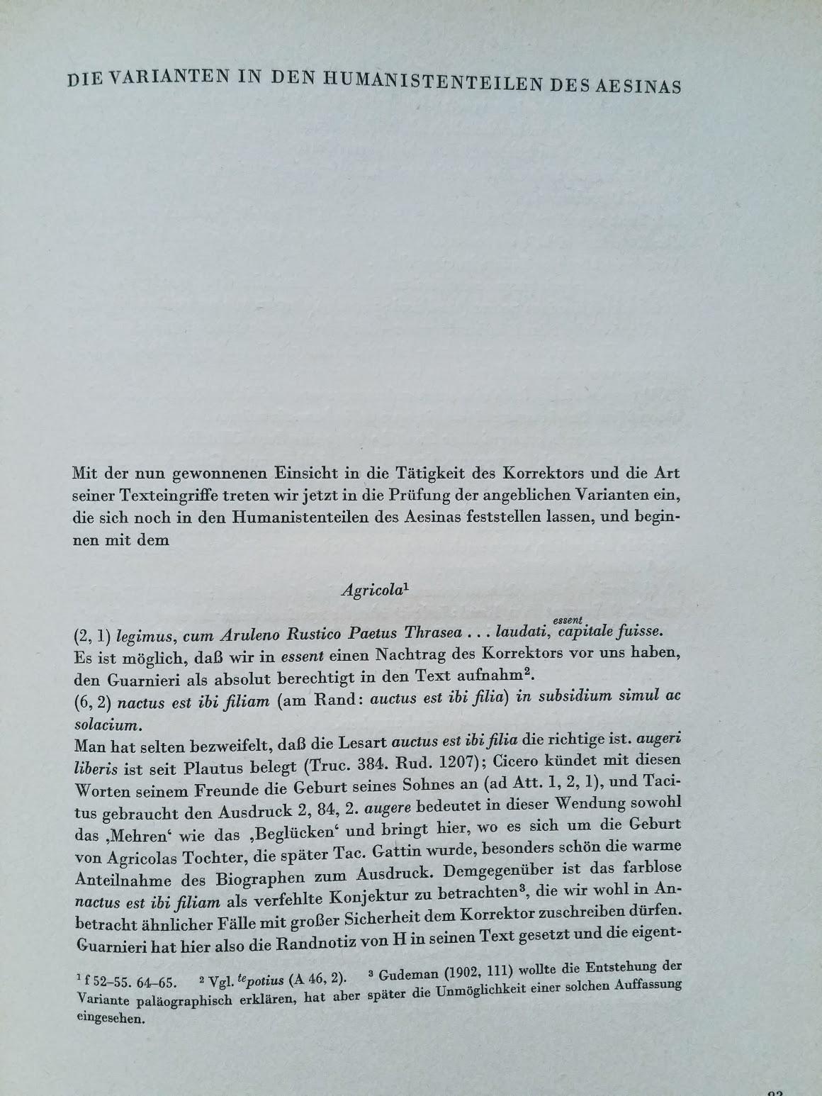 Tacitus - zu den Bräuchen und der Geschichte der Germanen, Ausgabe der Forschungsgemeinschaft Deutsches Ahnenerbe e.V., 1942