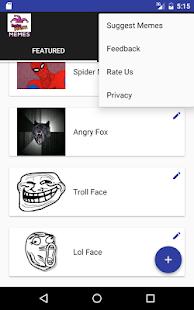 Instamasti memes generator screenshot