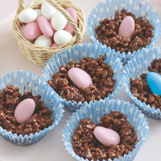 Easter Crackle Nests.
