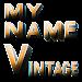 3D My Name Vintage Wallpaper Icon
