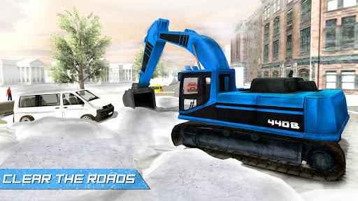 大雪挖掘機模擬器