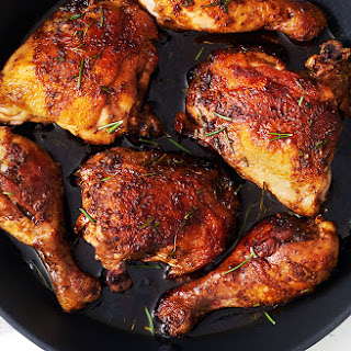 Honey Balsamic Rosemary Chicken Legs