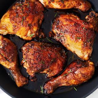 Honey Balsamic Rosemary Chicken Legs.