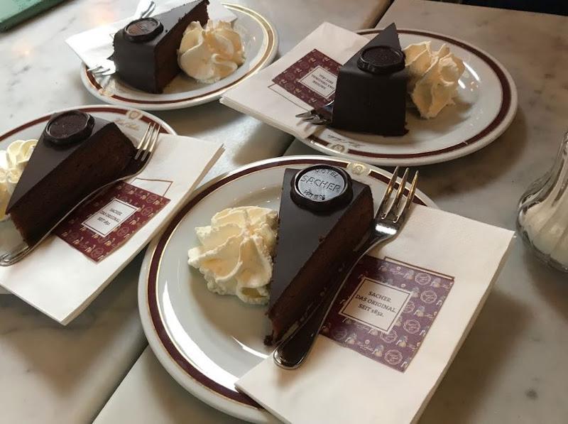 Sacher torte di manugahan