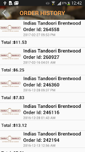 India's Tandoori Brentwood- screenshot thumbnail