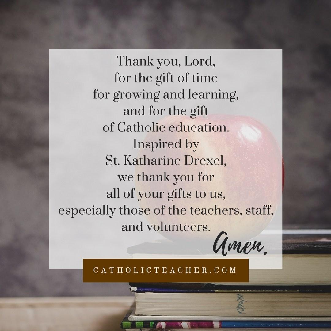 Image result for catholic schools week prayers