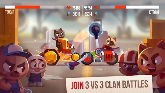 Cats Crash Arena Turbo Stars Mod Apk 2.24.1 (Unlimited Money) 4