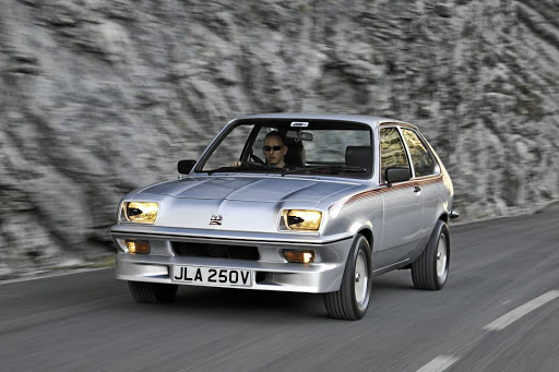Callum remains passionate about classic cars and recently bought a Vauxhall Chevette HS
