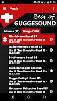 Screenshot of Best of Guggesound